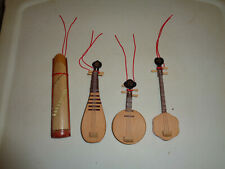 Christmas Tree Ornaments Wooden Instruments by Lillian ernon