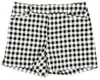 """WHITE HOUSE BLACK MARKET 5"""" Gingham Shorts"""