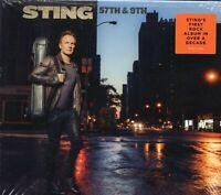 Sting - 57th & 9th (2016 CD) New & Sealed