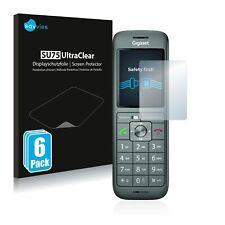 6x Displayschutzfolie für Gigaset CL660HX Klar Schutzfolie Displayfolie