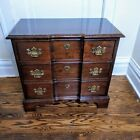 Pennsylvania House Cherry Chest Nightstand End Table Accent Table 3 Drawer