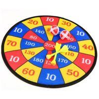 1PC Fabric Dart Board Set Kid Ball Target Game Throwing Sport Hobby XMAS Gift G5