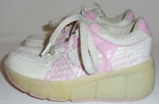 FASHION ROLLER WHEEL PINK SNEAKERS GIRLS  ATHLETIC SHOE SIZE 28,