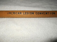 VINTAGE AMERICAN LEGION CONVENTION WALKING STICK OR CANE - BLOOMINGTON.IND. 1939