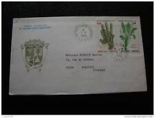 TAAF carta 1/1/86 - sello stamp - yvert y tellier nº118 119 (cy8)