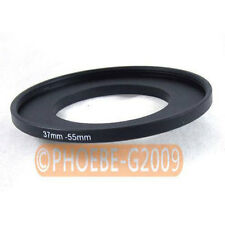 37mm to 55mm 37-55 mm Step Up Filter Ring  Adapter