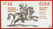 Fq4a £1.54 Messengers Lm Folded Booklet
