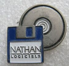 Pin's NATHAN Logiciel Disquette et CD #93