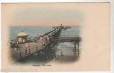 Margate Jetty / Pier - Photo Postcard c1902