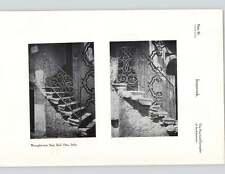 1924 ferro battuto scala RAIL ORTA ITALIA