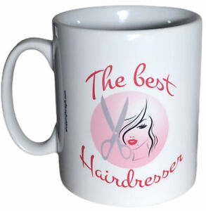 Hairdressers Gift Mug - The Best Hairdresser. Christmas Gifts For Hairdressers.