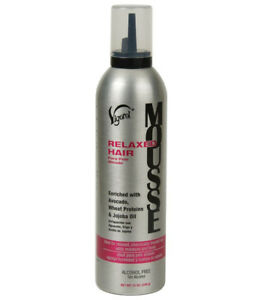 [VIGOROL] RELAXED HAIR MOUSSE ALCOHOL FREE 12OZ