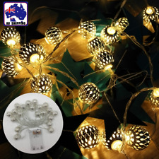20LED Warm White Moroccan Ball String Light Room Decoration Xmas Party ESLI96900