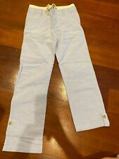 *New* Janie and Jack light blue easter pants boy's size 12 100% cotton