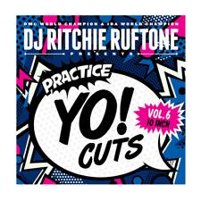 "DJ RITCHIE RUFTONE - Practice Yo! Cuts Vol 6 Skipless - Vinyl (10"") - Blue Vinyl"