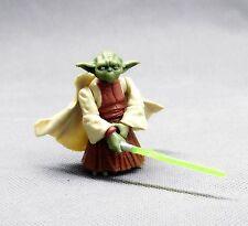 "HASBRO Star Wars   the clone wars jedi master YODA tcw CW  figure 3.75"" D3"