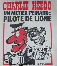 Charlie Hebdo Kein 362 Oktober 1977 Reiser Fahrer Line ein Beruf Bequemen