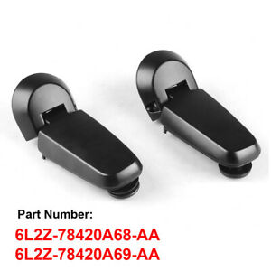 For 2006-2010 Ford Explorer Mountaineer Rear Lift Gate Window Glass Hinges