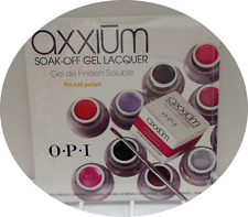 OPI AXXIUM SOAK OFF  Instructions for Sole-Soothing Spa Services Education DVD
