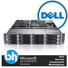 Dell PowerEdge C6100 VMware Cloud Node Rack Server 8x Xeon Quad Core 96GB RAM 2U