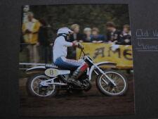 Photo Yamaha 500 #8 Ad Verstegen (NED) Motocross Lochem (NED) 5 oktober 1980