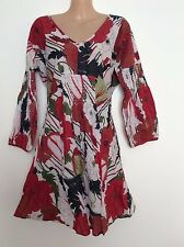3/4 Sleeve Unbranded Floral 100% Cotton Tops & Blouses for Women