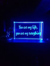Led key chain you are my love you are my everything