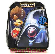 Angry Birds Star Wars 16'' Large Backpack Starwars BookBag, New