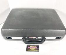 Vintage Samsonite Delegate 1982 Hardshell Attaché Tank Briefcase Black No Key