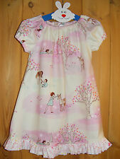 Wander Woods Pink 18-24 Months 'Simply Awesome' Handmade Peasant Dress