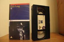 M Fritz Lang VHS