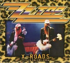 ZZ TOP - X-ROADS (LIVE IN DALLAS 2004 + ENGLAND 1983) - CD DIGIPAK - SOUNDBOARD