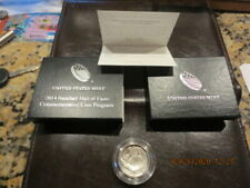 BASEBALL HALL OF FAME COMMEMORATIVE 2014-D 50C PROOF COIN