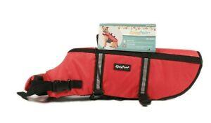 Zippy Paws Dog Life Jacket Adventure Wear Size Large Red