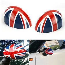Union Jack Manual Fold Wing Mirror Caps Cover Casing For MINI COOPER R56 R58 R60