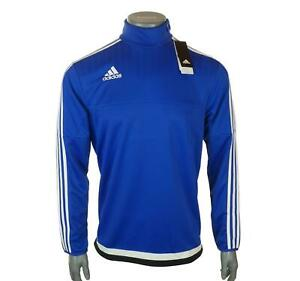 New Men's Adidas Long Sleeved Climacool Training Top 1/4 Zip Sweatshirt S M L XL