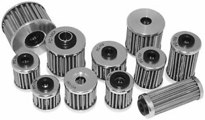 PC Racing - PC123 - FLO Drop In Stainless Steel Oil Filter~