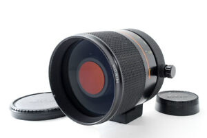 Nikon Reflex Nikkor 500mm f/8 New Ver. MF Mirror Lens From Japan [Mint+]