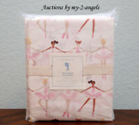 NEW Pottery Barn Kids BALLERINA Full Sheet Set GIRLS/PINK *dancer SOLD OUT!