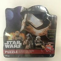 """Disney Star Wars The Force Awakens 1000 Pc. Puzzle in Tin  18"""" x 24"""""""