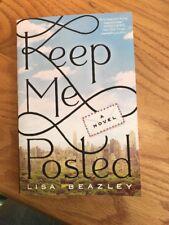 Keep Me Posted by Lisa Beazley (2017, Paperback)