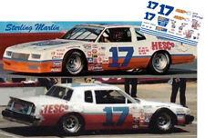 CD_1797 #17 Sterling Marlin '83 Hesco Muffler Chevy  1:64 decals ~OVERSTOCK~
