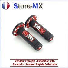 Paire de poignées Pro Taper Noir / Rouge pour Moto-cross KTM SX 450 F