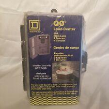 Square D Qo Load Center 60a 2 Spaces 4 Circuits Breaker Box Qo2 4l60nrnm