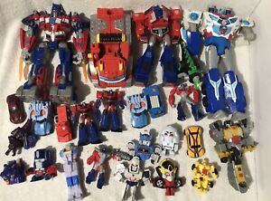 Mixed Transformers Action Figures Lot