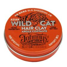 Johnny's Chop Shop Asian Wild Cat Hair Clay 70g (Paraben free) UK STOCKIST