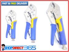 3 Piece Heavy Duty Grip Wrench Set Vice Locking Lock Pliers Mole Grip Tool  2313