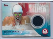 AWESOME 2016 TOPPS OLYMPICS CONOR DWYER RELIC CARD ~ TEAM USA SWIMMING