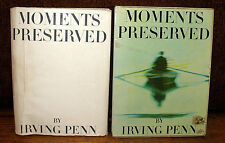 Irving Penn Moments Preserved Gravure Color Photographs HC DJ Slipcase 1st ED