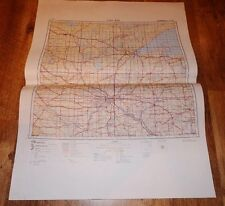 Authentic Soviet Army Military Topographic Map Saint Paul, Minnesota USA #B6